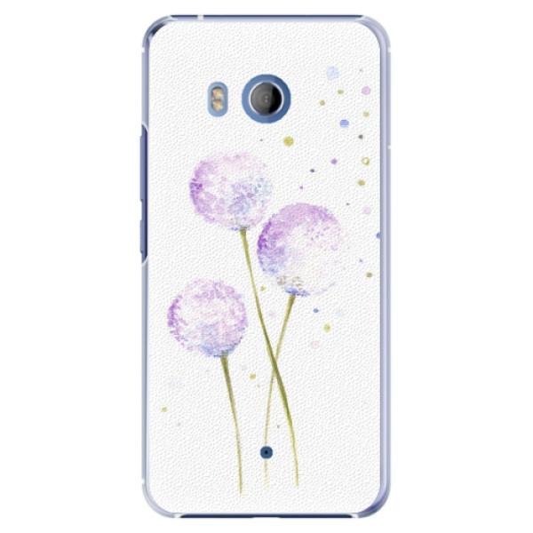 Plastové pouzdro iSaprio - Dandelion - HTC U11
