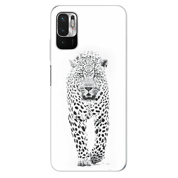 Odolné silikonové pouzdro iSaprio - White Jaguar - Xiaomi Redmi Note 10 5G