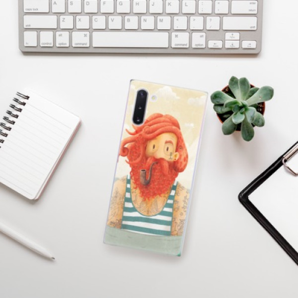 Odolné silikonové pouzdro iSaprio - Sailor - Samsung Galaxy Note 10