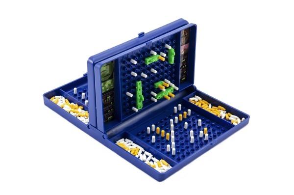 Hra lodě Námořní bitva společenská hra v krabici 19x29x3,5cm