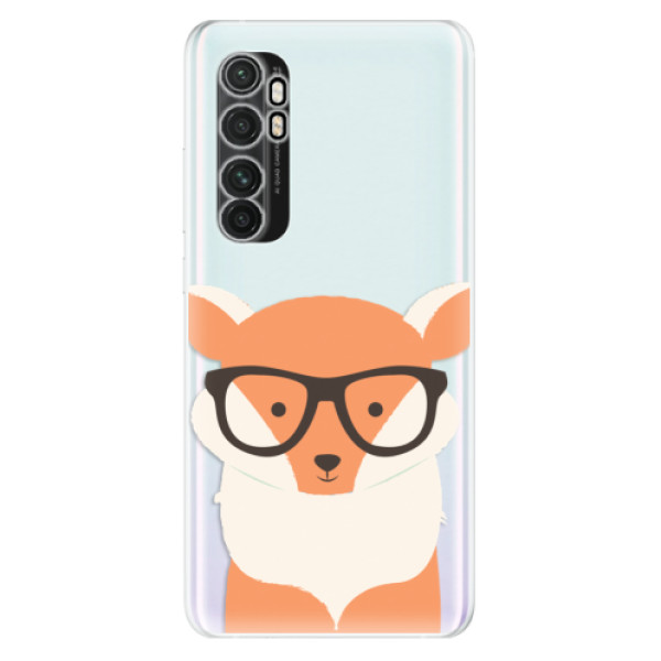 Odolné silikonové pouzdro iSaprio - Orange Fox - Xiaomi Mi Note 10 Lite