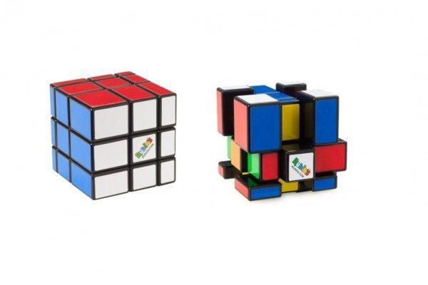 Rubikova kostka hlavolam Rubikś blocks na kartě 17x24cm