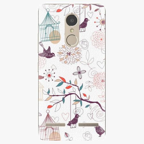 Plastový kryt iSaprio - Birds - Lenovo K6