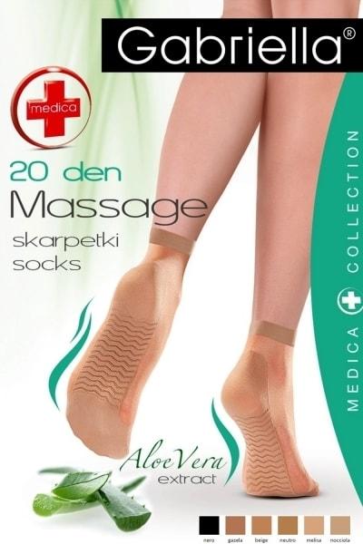 Dámské ponožky 623 Medica 20 nero - Univerzální