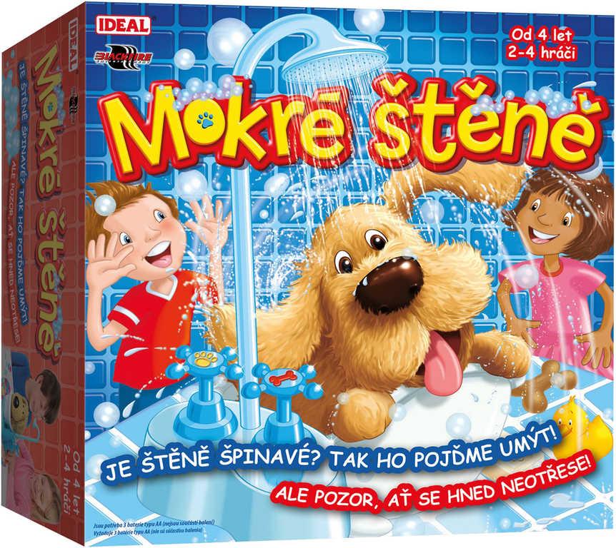 ADC Hra zábavná Mokré štěně umyj štěňátko *SPOLEČENSKÉ HRY*