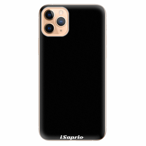 Silikonové pouzdro iSaprio - 4Pure - černý - iPhone 11 Pro Max