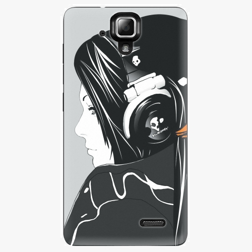 Plastový kryt iSaprio - Headphones - Lenovo A536