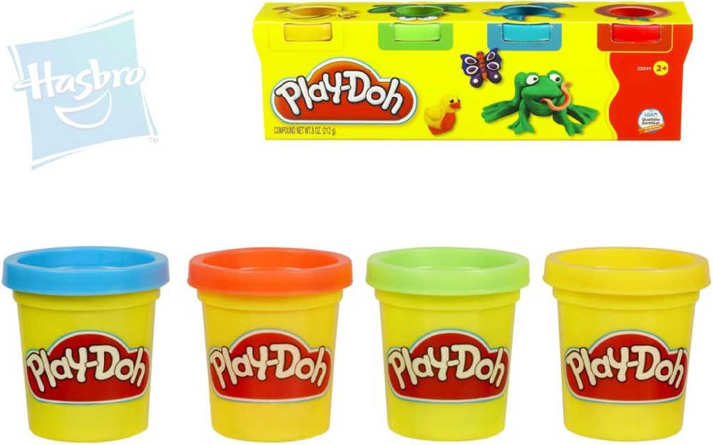 HASBRO PLAY-DOH Modelína mini set 4 barvy v krabičce