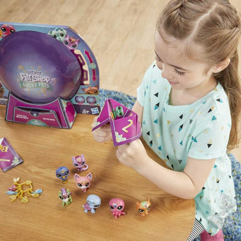 HASBRO LPS Zvířátko Littlest Pet Shop práskací magické set 7ks s překvapením