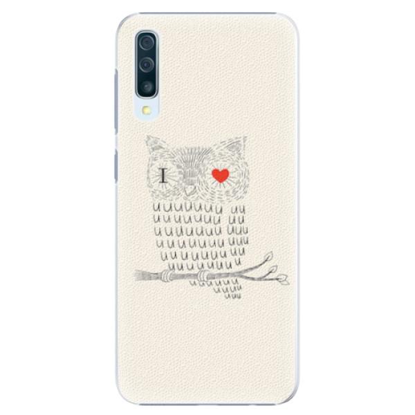 Plastové pouzdro iSaprio - I Love You 01 - Samsung Galaxy A50