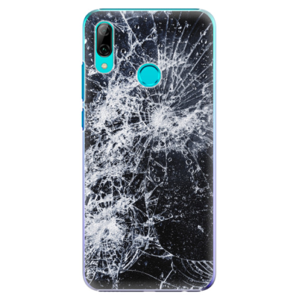 Plastové pouzdro iSaprio - Cracked - Huawei P Smart 2019