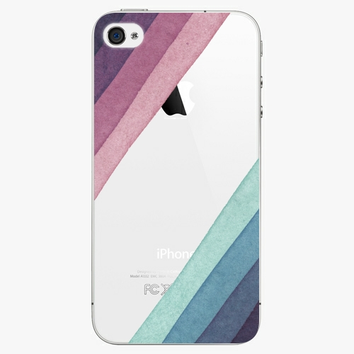 Plastový kryt iSaprio - Glitter Stripes 01 - iPhone 4/4S