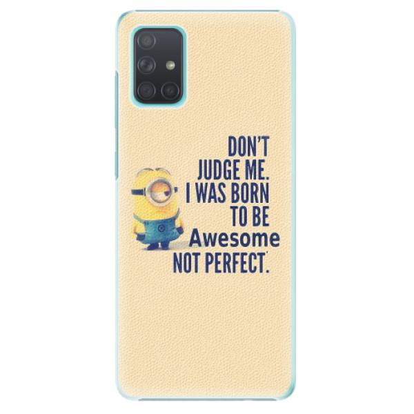 Plastové pouzdro iSaprio - Be Awesome - Samsung Galaxy A71
