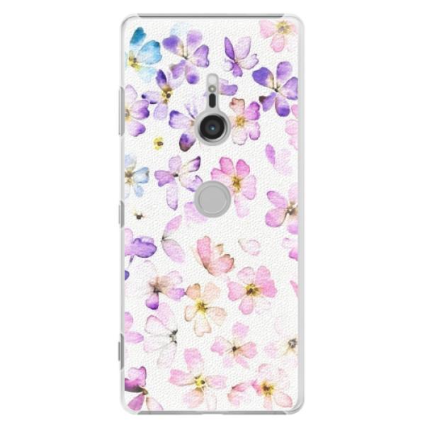 Plastové pouzdro iSaprio - Wildflowers - Sony Xperia XZ3