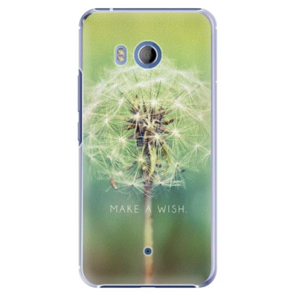 Plastové pouzdro iSaprio - Wish - HTC U11