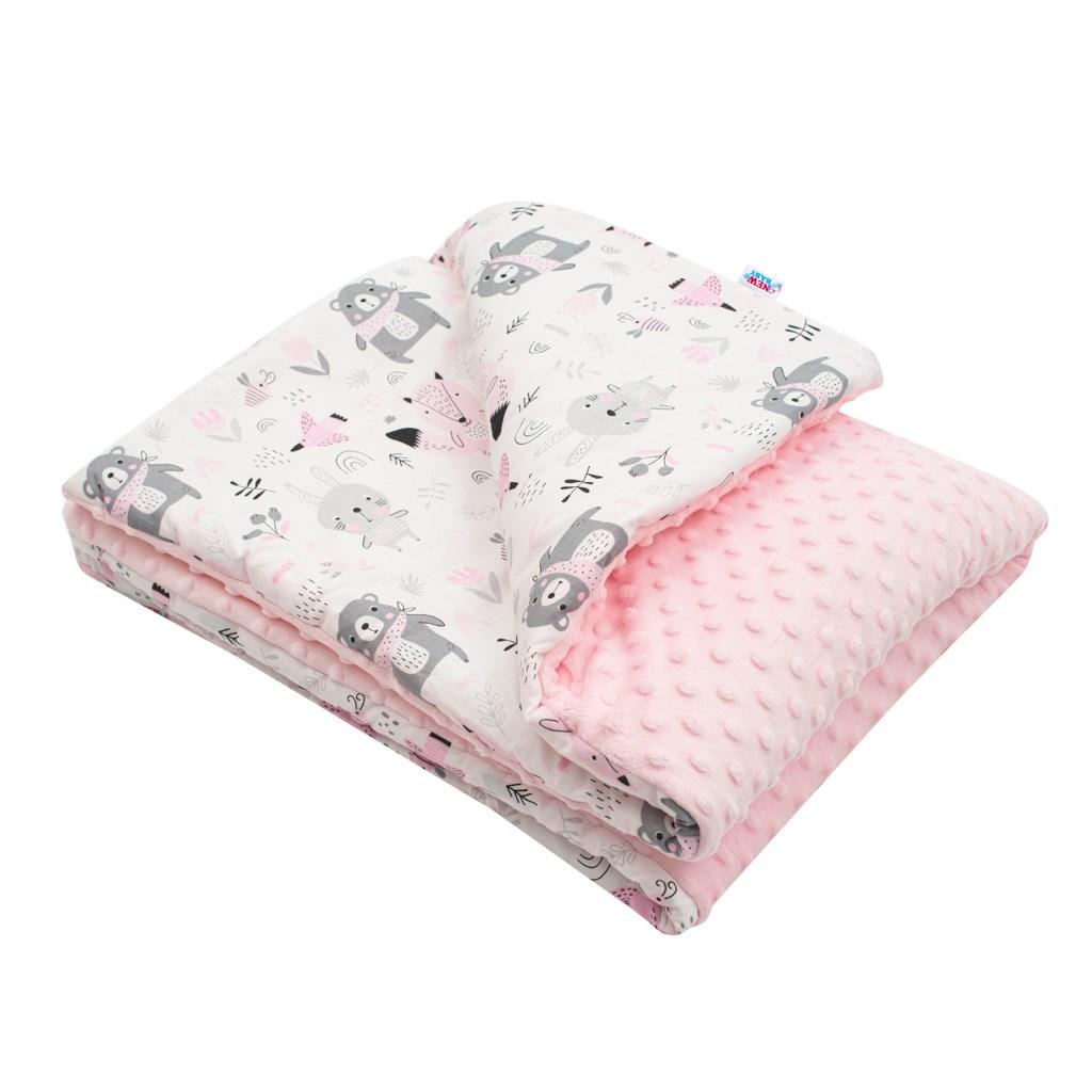 Dětská deka z Minky s výplní New Baby