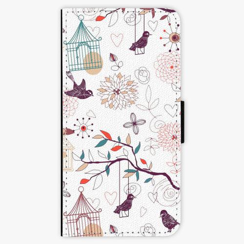 Flipové pouzdro iSaprio - Birds - iPhone 8
