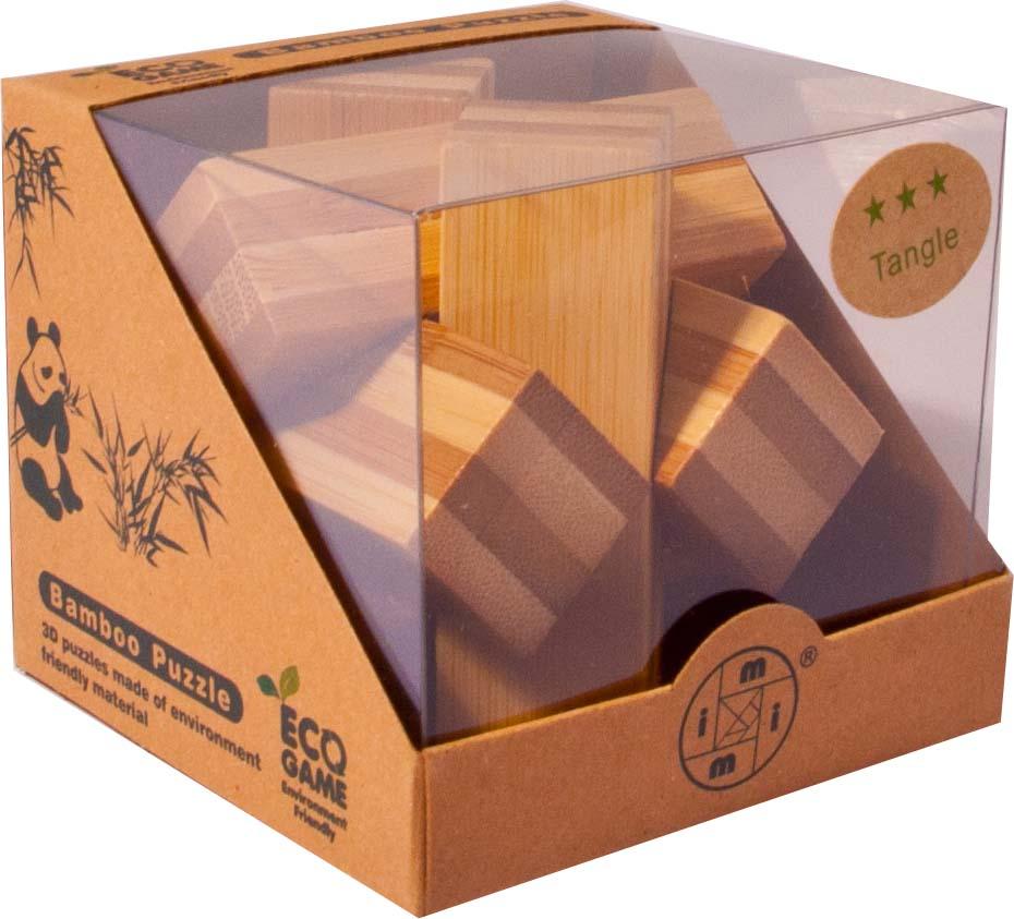 Bambusový - hlavolam - Hvězda