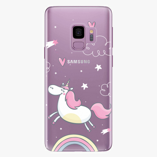 Plastový kryt iSaprio - Unicorn 01 - Samsung Galaxy S9