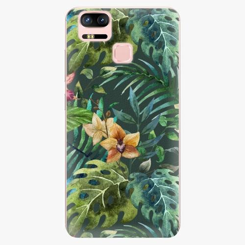 Plastový kryt iSaprio - Tropical Green 02 - Asus ZenFone 3 Zoom ZE553KL