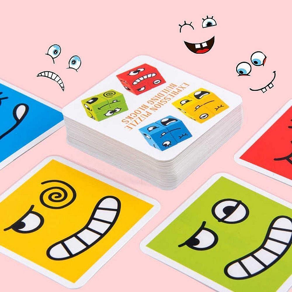 Hra - měnící obličej