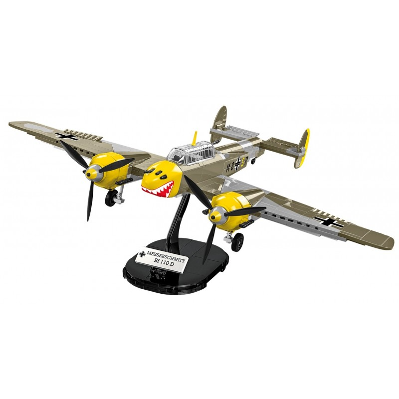 Stavebnice II WW Messerschmitt BF 110B 422 k 2 f
