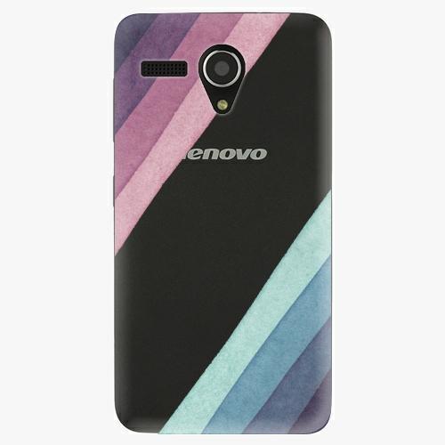 Plastový kryt iSaprio - Glitter Stripes 01 - Lenovo A606
