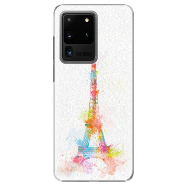 Plastové pouzdro iSaprio - Eiffel Tower - Samsung Galaxy S20 Ultra