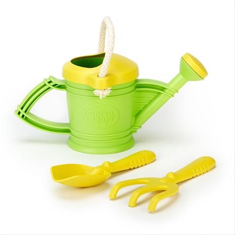 Green Toys Zalévací konvička zelená