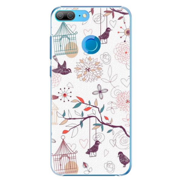 Plastové pouzdro iSaprio - Birds - Huawei Honor 9 Lite