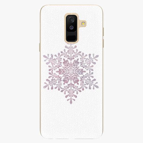 Plastový kryt iSaprio - Snow Flake - Samsung Galaxy A6 Plus