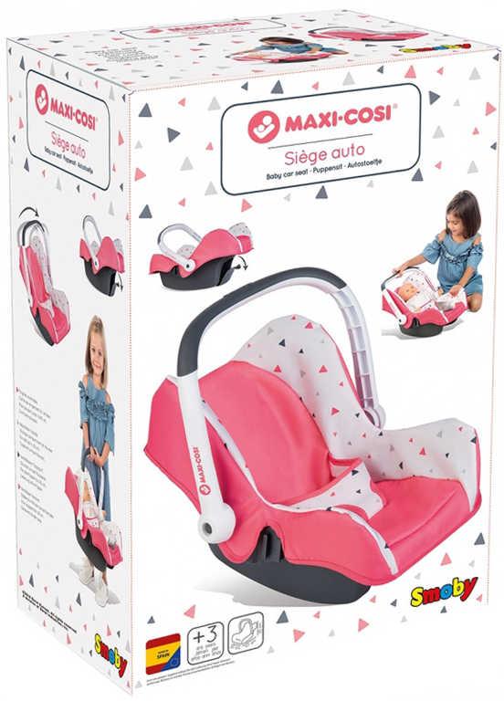 SMOBY Maxi-Cosi & Quinny autosedačka pro panenku miminko na kočárek