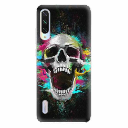 Silikonové pouzdro iSaprio - Skull in Colors - Xiaomi Mi A3