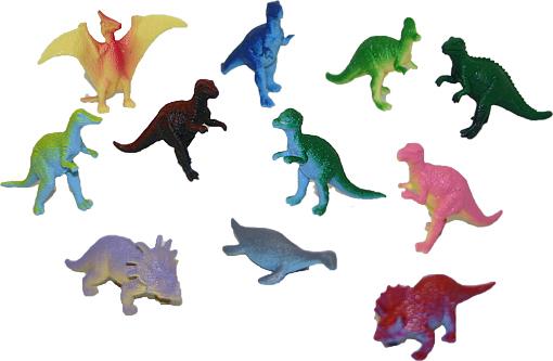 Dinosauři v sáčku 12 ks