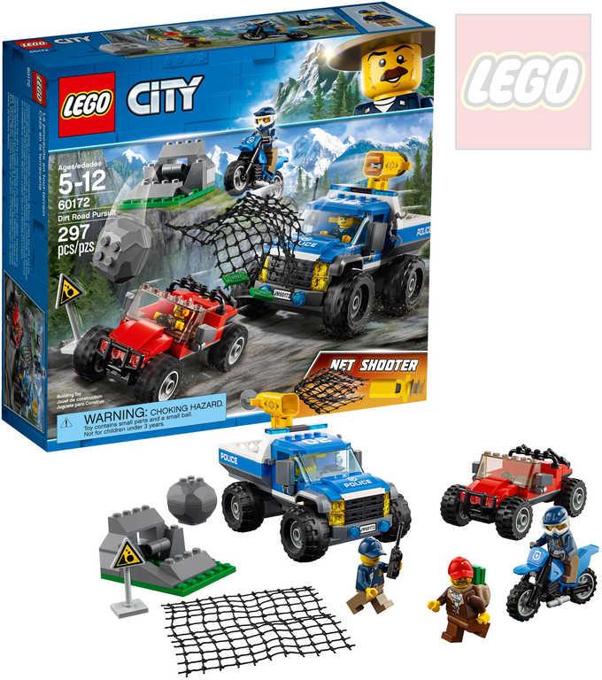 LEGO CITY Honička v průsmyku STAVEBNICE 60172