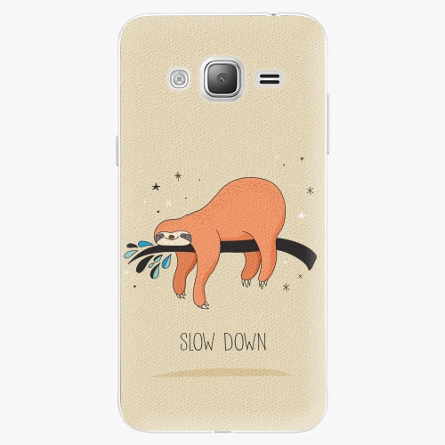 Plastový kryt iSaprio - Slow Down - Samsung Galaxy J3 2016