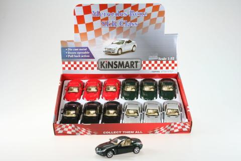 Kinsmart Mercedes Benz SLK Class 12/bal