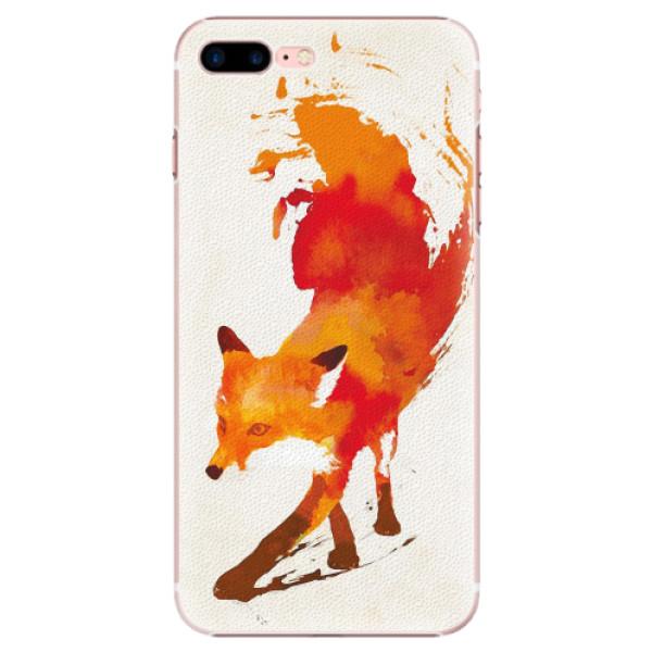 Plastové pouzdro iSaprio - Fast Fox - iPhone 7 Plus