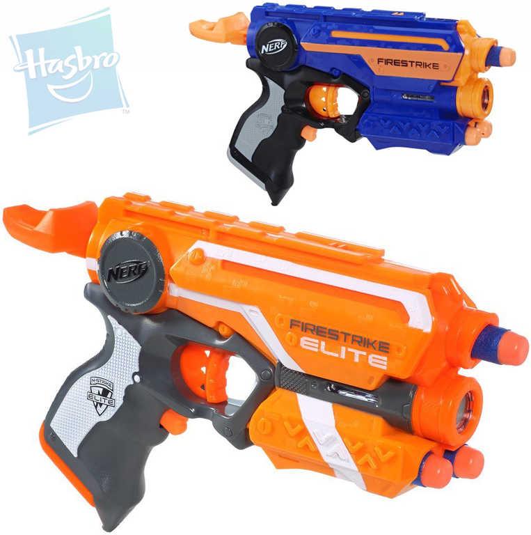 HASBRO NERF Elite Pistole N-Strike s laserovým zaměřovačem + 3 šipky 2 barvy