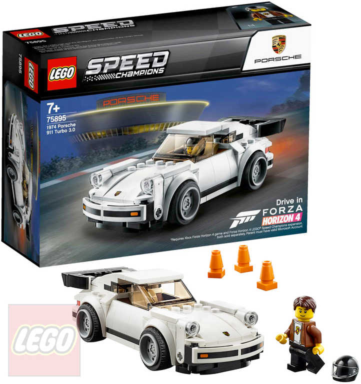 LEGO SPEED Champions 1974 Porsche 911 Turbo 3.0 75895 STAVEBNICE