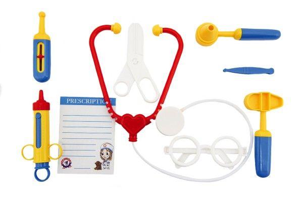 Sada doktor/lékař 9 ks plast v sáčku 16 x 31 x 4 cm