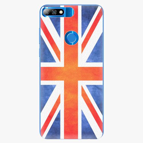 Plastový kryt iSaprio - UK Flag - Huawei Y7 Prime 2018