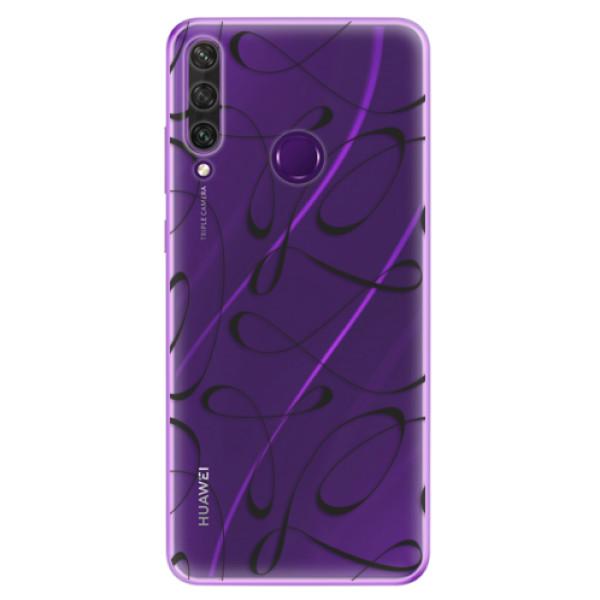 Odolné silikonové pouzdro iSaprio - Fancy - black - Huawei Y6p