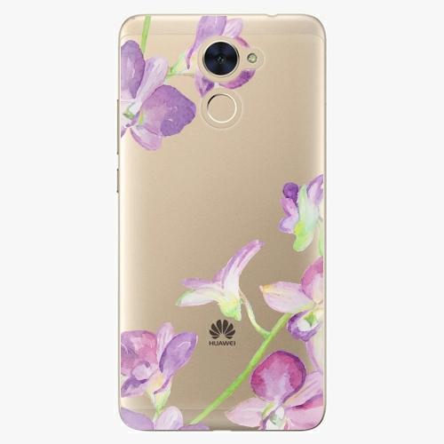 Plastový kryt iSaprio - Purple Orchid - Huawei Y7 / Y7 Prime