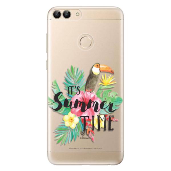 Odolné silikonové pouzdro iSaprio - Summer Time - Huawei P Smart