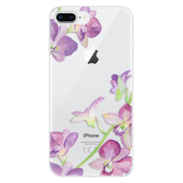 Odolné silikonové pouzdro iSaprio - Purple Orchid - iPhone 8 Plus