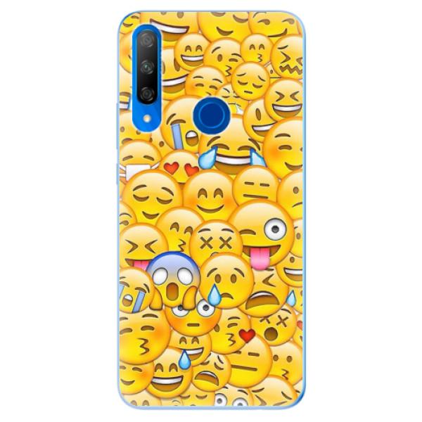 Odolné silikonové pouzdro iSaprio - Emoji - Huawei Honor 9X