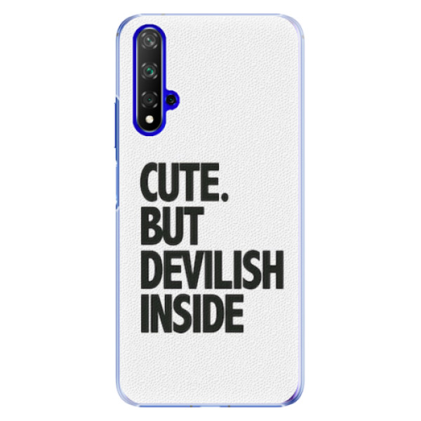 Plastové pouzdro iSaprio - Devilish inside - Huawei Honor 20