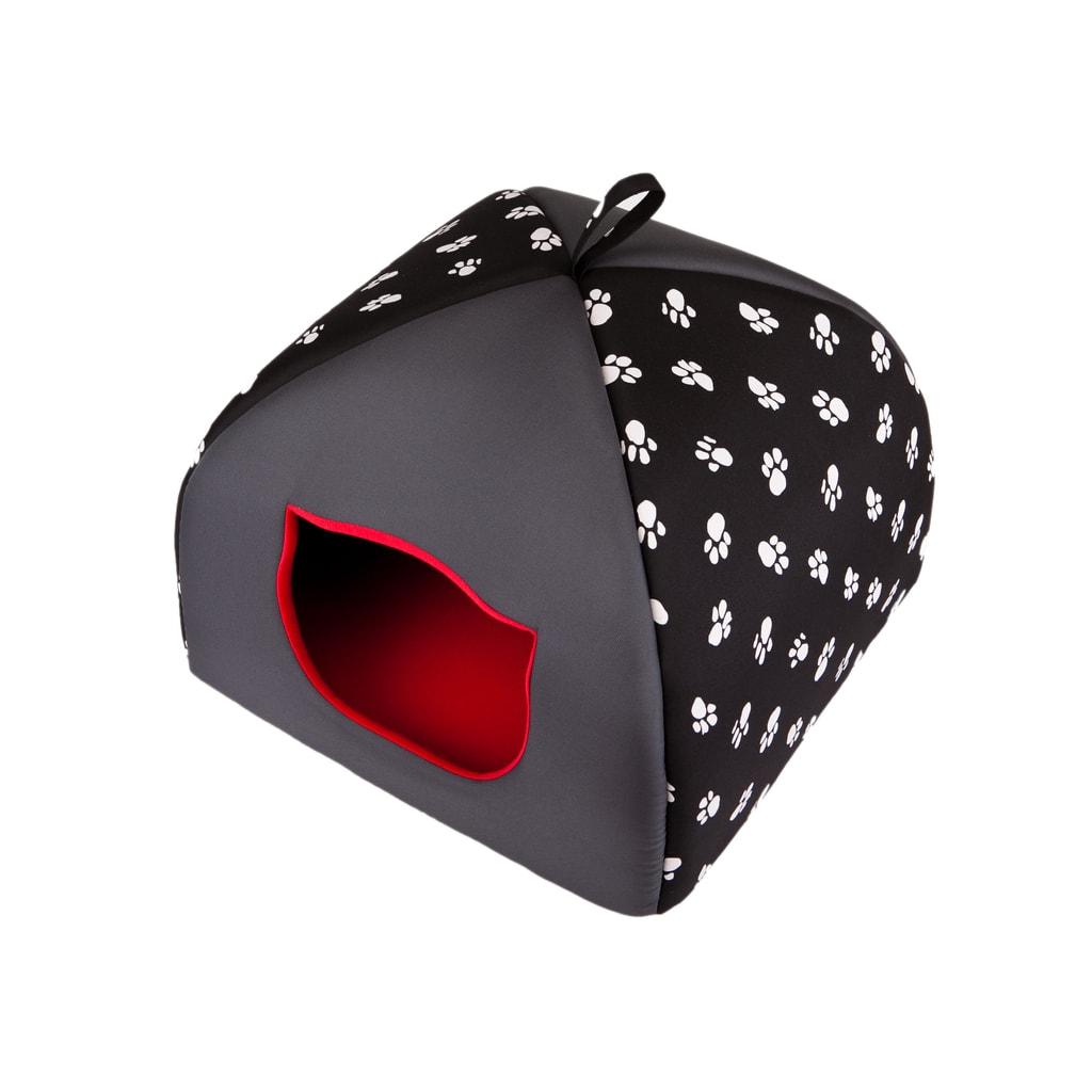Iglu pro kočky Reedog Black - S