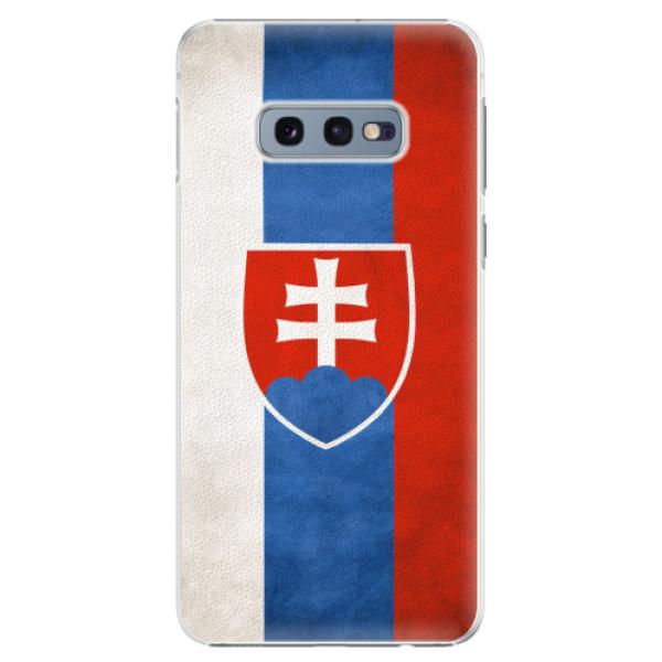 Plastové pouzdro iSaprio - Slovakia Flag - Samsung Galaxy S10e